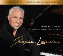 Jacques Loussier (1934-2019): My Personal Favorites: The Jacques Loussier Trio Plays Bach, 2 CDs