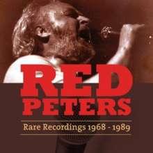 Red Peters: Rare Recordings (1968-1989), CD