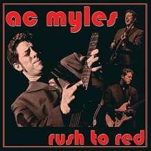 Ac Myles: Rush To Red, CD