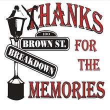 Brownstreet Breakdown: Thanks For The Memories, CD