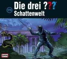 Die Drei ??? (Folge175) - Schattenwelt, 3 CDs