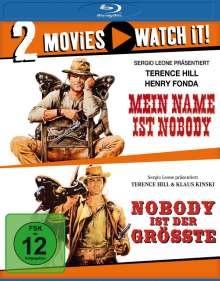 Mein Name ist Nobody / Nobody ist der Größte (Blu-ray), 2 Blu-ray Discs