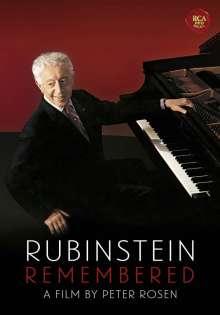 Arthur Rubinstein remembered, DVD