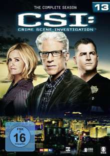 CSI Las Vegas Season 13, 6 DVDs