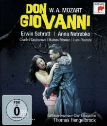 Wolfgang Amadeus Mozart (1756-1791): Don Giovanni, Blu-ray Disc