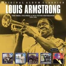 Louis Armstrong (1901-1971): Original Album Classics, 5 CDs