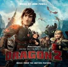 John Powell (geb. 1963): Filmmusik: Drachenzähmen leicht gemacht  2, CD
