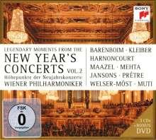 Die legendären Neujahrskonzerte II, 3 CDs und 1 DVD