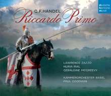 Georg Friedrich Händel (1685-1759): Riccardo Primo, 3 CDs