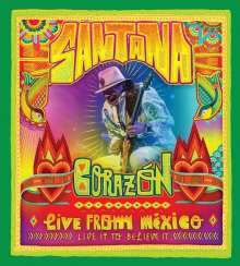 Santana: Corazon: Live From Mexico: Live It To Believe It (Blu-ray + CD), 1 Blu-ray Disc und 1 CD