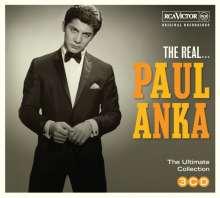 Paul Anka: The Real... Paul Anka, 3 CDs