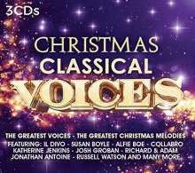 Christmas Classical Voices, 3 CDs