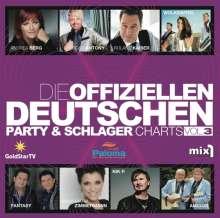 Die offiziellen deutschen Party-und Schlagercharts, 2 CDs