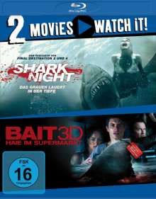 Shark Night / Bait (Blu-ray), 2 Blu-ray Discs
