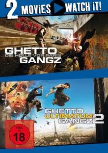 Ghetto Gangz 1 & 2, 2 DVDs