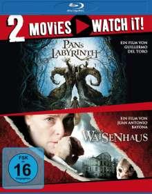 Pans Labyrinth / Das Waisenhaus (Blu-ray), 2 Blu-ray Discs