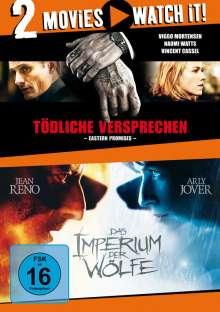Tödliche Versprechen / Das Imperium der Wölfe, 2 DVDs