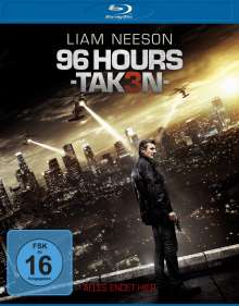 96 Hours: Taken 3 (Blu-ray), Blu-ray Disc