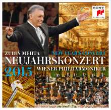 Neujahrskonzert 2015 der Wiener Philharmoniker, 2 CDs