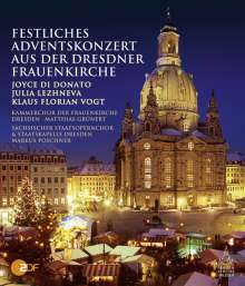 Festliches Adventskonzert aus der Dresdner Frauenkirche 2013 (Blu-ray), Blu-ray Disc