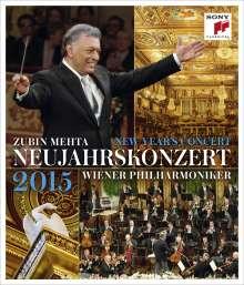 Neujahrskonzert 2015 der Wiener Philharmoniker, Blu-ray Disc