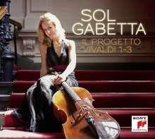 Sol Gabetta - Il Progetto Vivaldi 1-3, 3 CDs