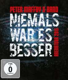 Peter Maffay: Niemals war es besser (Live), Blu-ray Disc