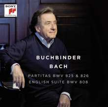 Rudolf Buchbinder - Bach, CD