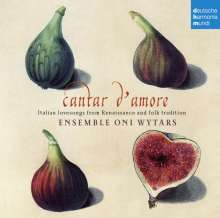 Cantar d'amore - Italian Lovesongs from Renaissance and Folk Tradition, CD