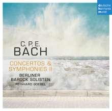 Carl Philipp Emanuel Bach (1714-1788): Symphonien Wq.177 & 182 Nr.1, CD