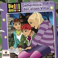 Die drei !!! Fall 42 - Geheimnis der alten Villa, CD