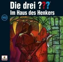 Die drei ??? (Folge182)  - Im Haus des Henkers, CD