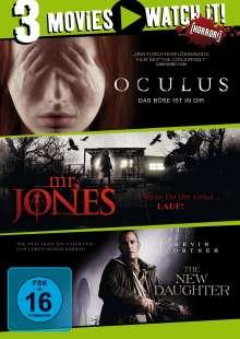Oculus / Mr. Jones / The New Daughter, 3 DVDs