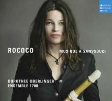 Dorothee Oberlinger - Rococo, CD