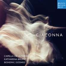 Capella de la Torre - Ciaconna, CD