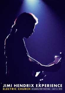 Jimi Hendrix: Electric Church - Atlanta Pop Festival, 4.7.1970, DVD