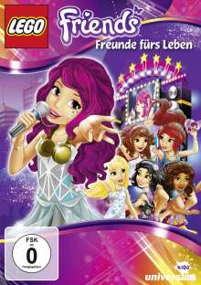LEGO - Friends: Freunde fürs Leben, DVD