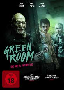 Green Room, DVD