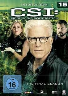 CSI Las Vegas Season 15 (finale Staffel), 6 DVDs
