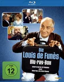 Die Louis de Funès Blu-ray-Box (Blu-ray), 3 Blu-ray Discs
