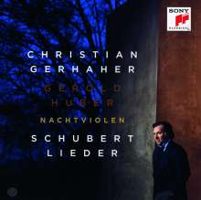 """Franz Schubert (1797-1828): Lieder """"Nachtviolen"""", CD"""