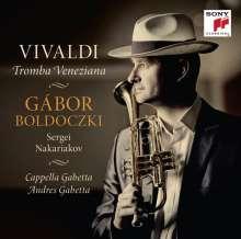 Gabor Boldoczki - Tromba Veneziana, CD
