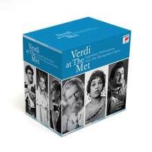 Giuseppe Verdi (1813-1901): Giuseppe Verdi - Verdi at the Met, 20 CDs