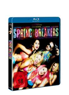 Spring Breakers (Blu-ray), Blu-ray Disc