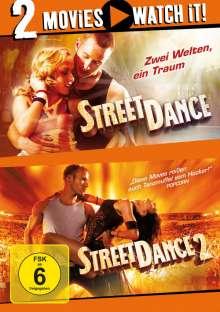 Street Dance 1 & 2, 2 DVDs