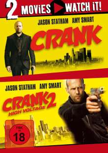 Crank 1 & 2, DVD