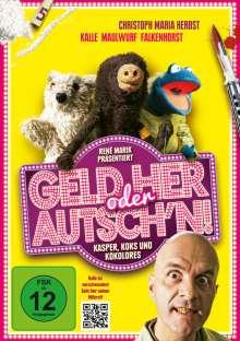 Geld her oder Autsch'n!, DVD