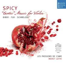 Les Passions de l'Ame - Spicy-Exotic Music for Violin, CD