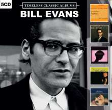 Bill Evans (Piano) (1929-1980): Timeless Classic Albums, 5 CDs