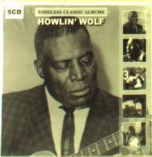 Howlin' Wolf: Timeless Classic Albumsvol 2, 5 CDs